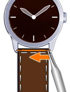 ecaa94c3aaa Kan jeg selv skifte min rem på mit ur? Urremmen.dk viser dig her ...